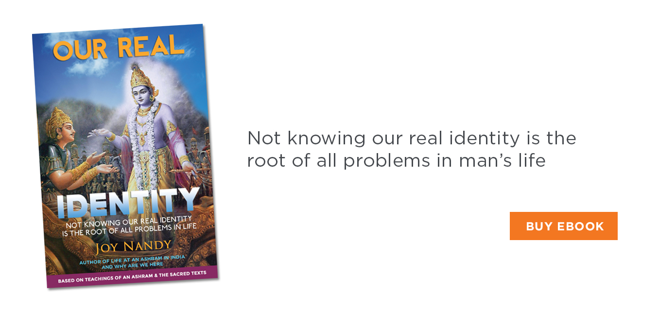 Our Real Identity by Joy Nandy
