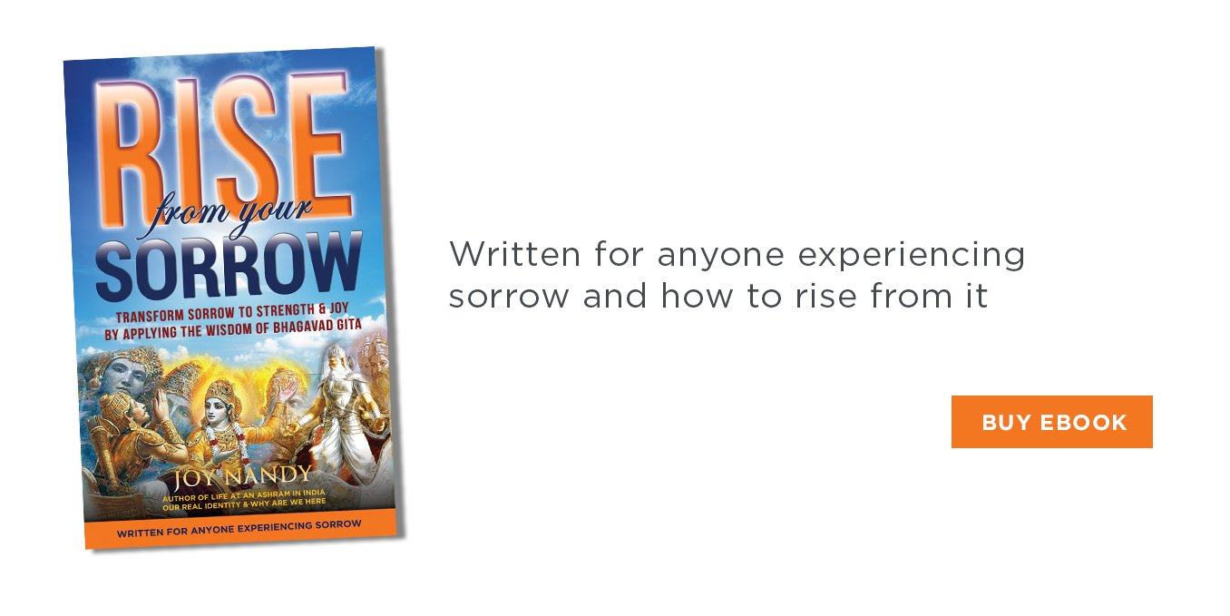 Rise From Your Sorrow by Joy Nandy