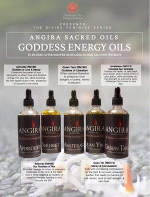 Angira Sacred Energy Oils